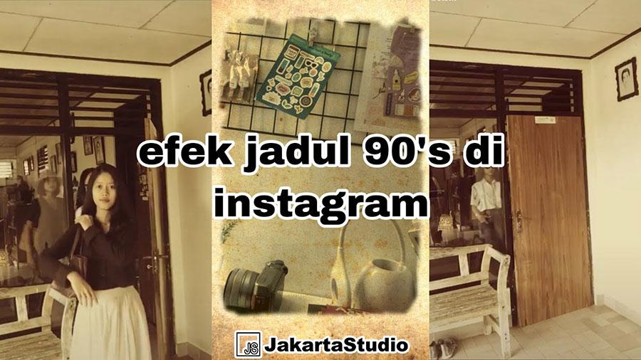 Filter tahun 90an instagram